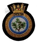 CAMPBELTOWN - Blazer Badge~OFFICIALLY LICENCED PRODUCT